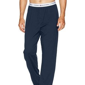 Tommy Hilfiger Mens Pajama Bottoms Spell Out Band